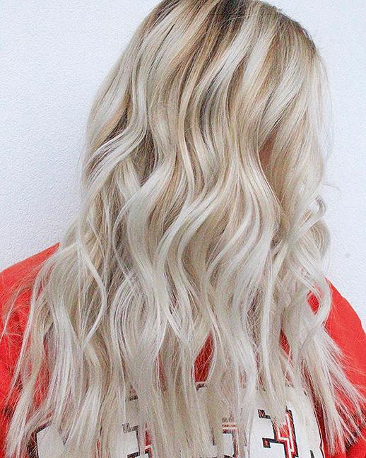 Снежный блонд