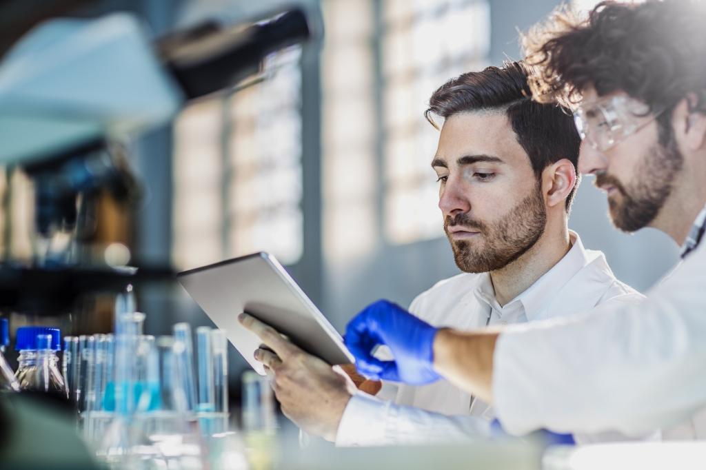Окраска белков и новые лекарства от рака