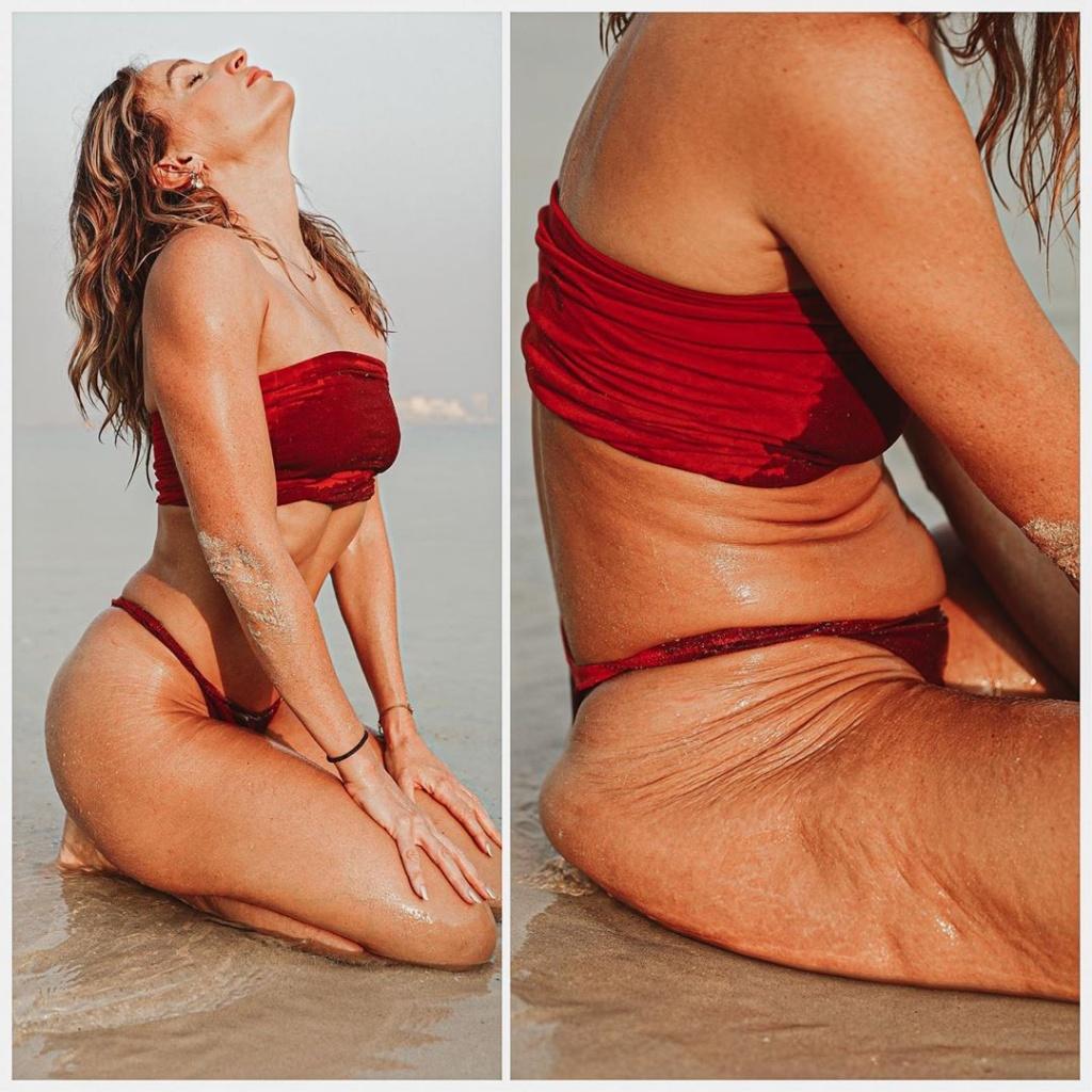 Фитнес-модель из ОАЭ показала, как спрятать целлюлит на фото в Instagram