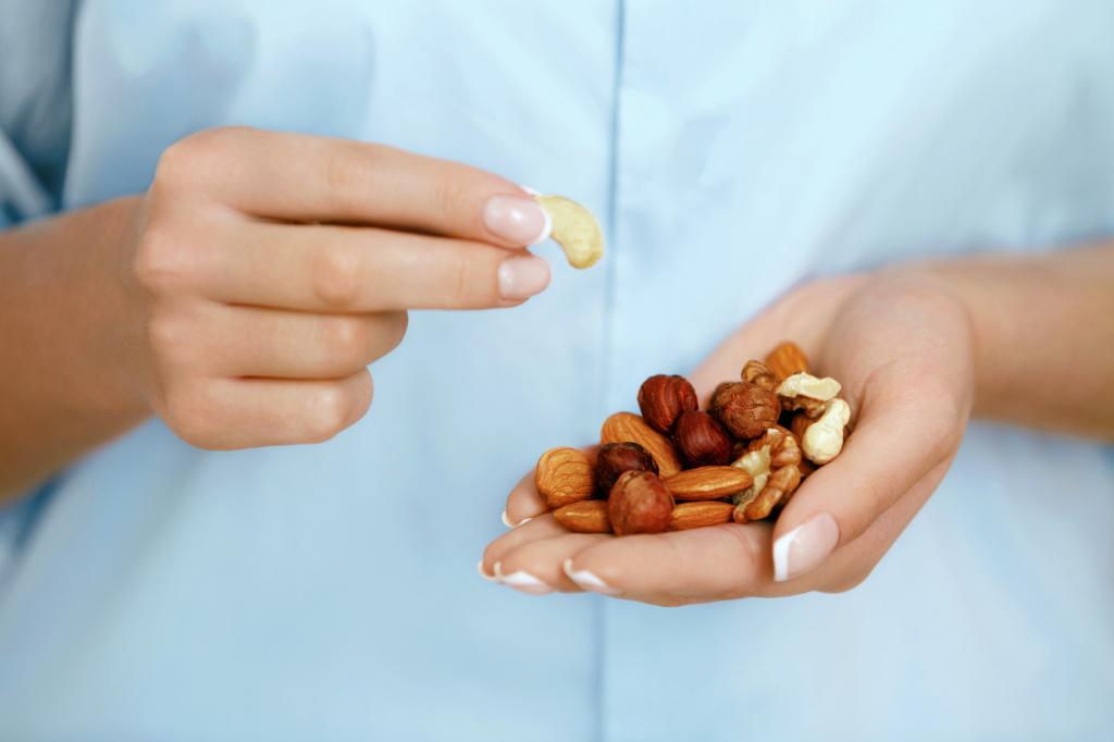 Хотите похудеть? Ешьте больше орехов!