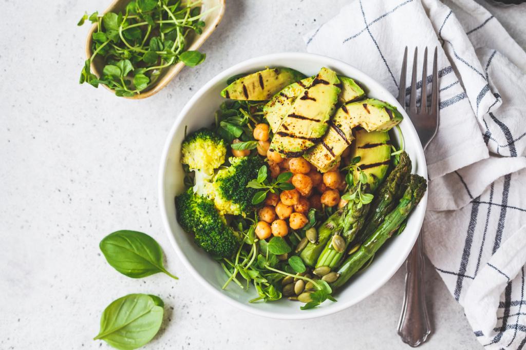 4 преимущества веганской диеты