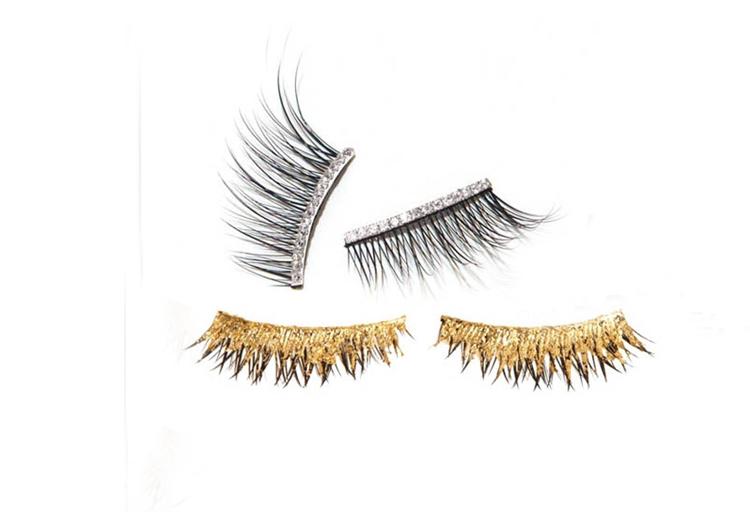 Накладные ресницы Kre At Beauty Gold and Diamond Eyelashes.jpg