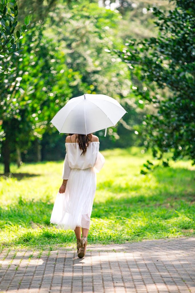 зонт и солнце