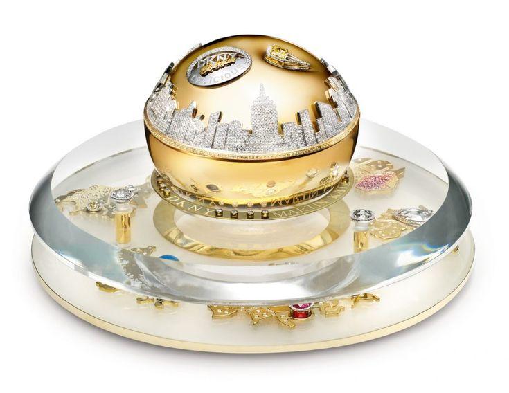 Golden Delicious Million dollar Fragrance bottle, DKNY.jpg