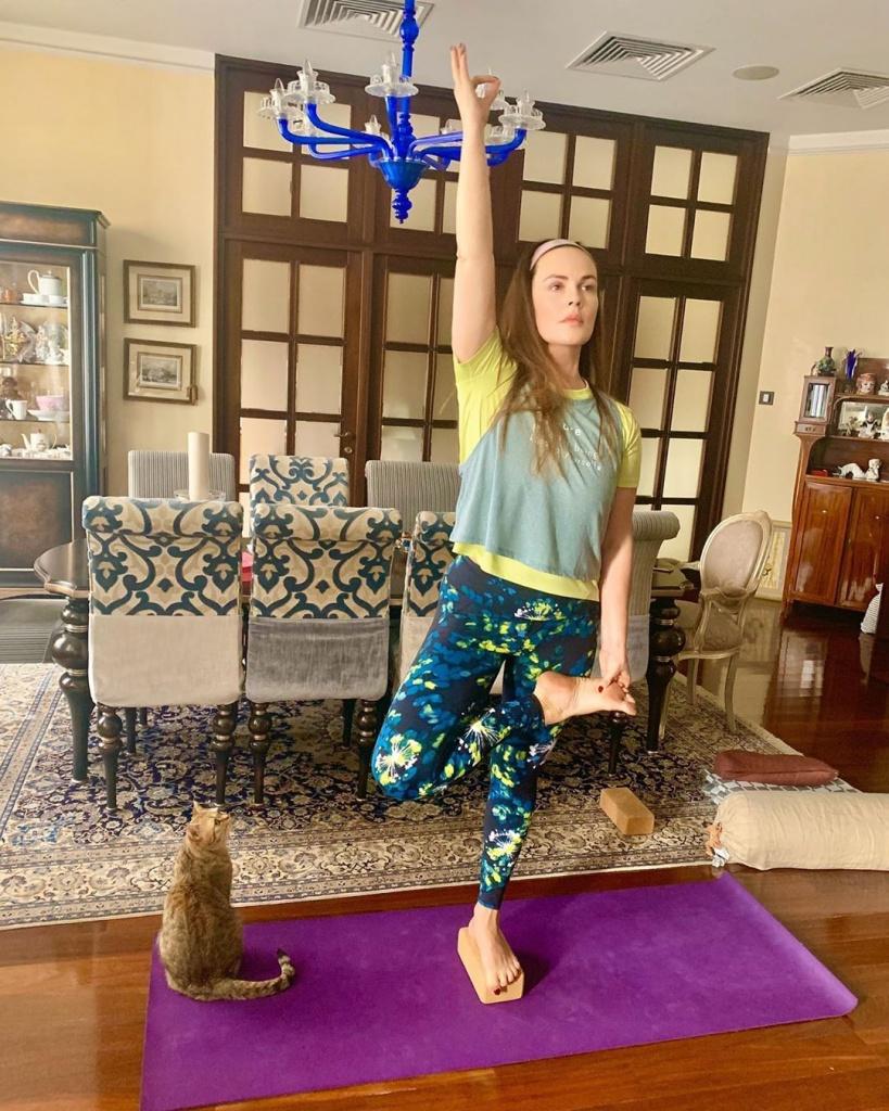 Екатерина Андреева рассказала про упражнения, которые помогут расслабиться и снять стресс