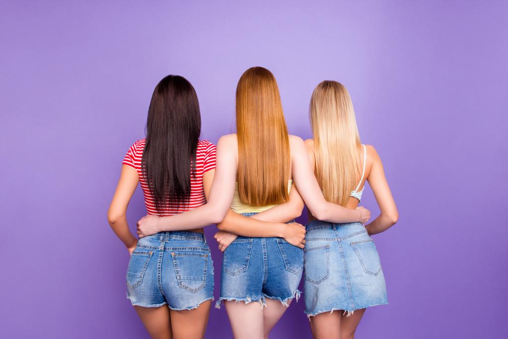 Безопасное выпрямление волос