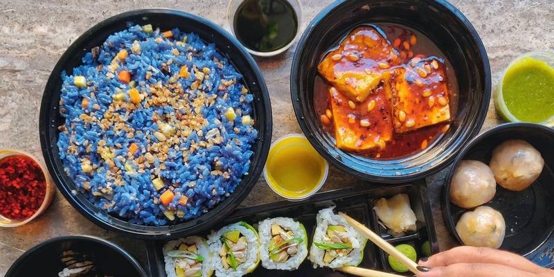 Стоит попробовать: синий рис из Instagram
