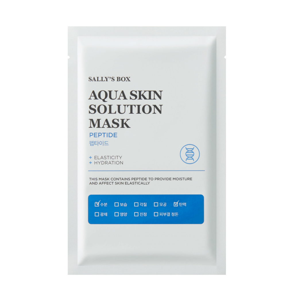 Aqua Skin Solution Mask Peptide, Sally's Box