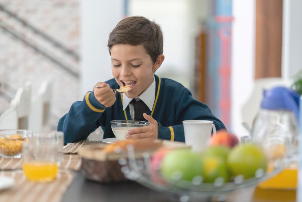 Отсутствие завтрака снижает успеваемость