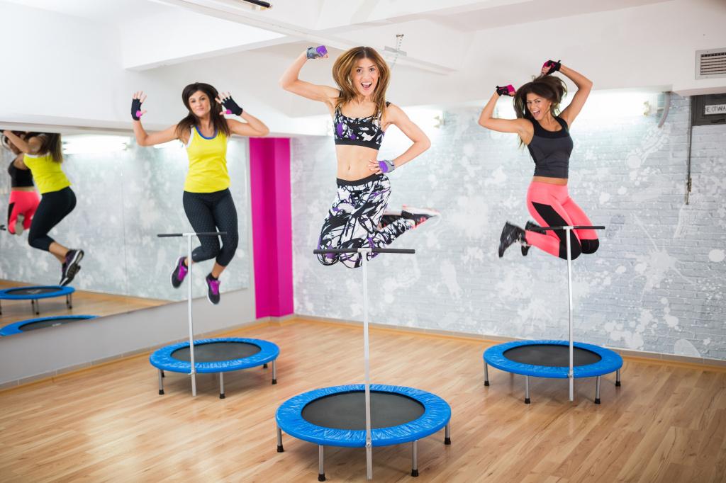 Фитнес на батуте, или Как похудеть весело