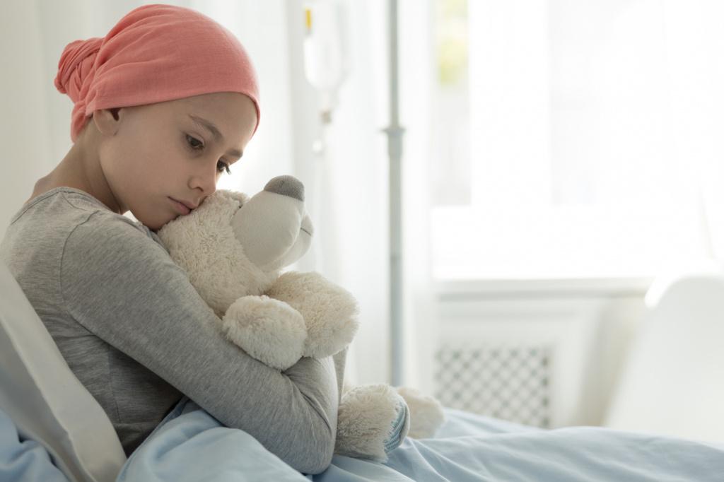 Купите бьюти-средство – помогите ребенку в борьбе с раком