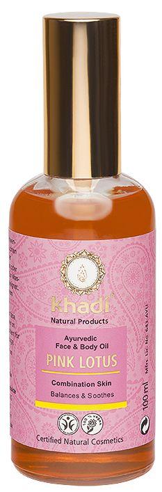 Масло для лица и тела Розовый лотос Gesichts & Korperol Pink Lotus.jpg