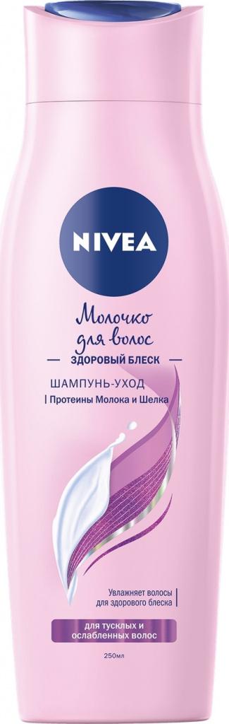 «Молочко для волос. Здоровый блеск», Nivea