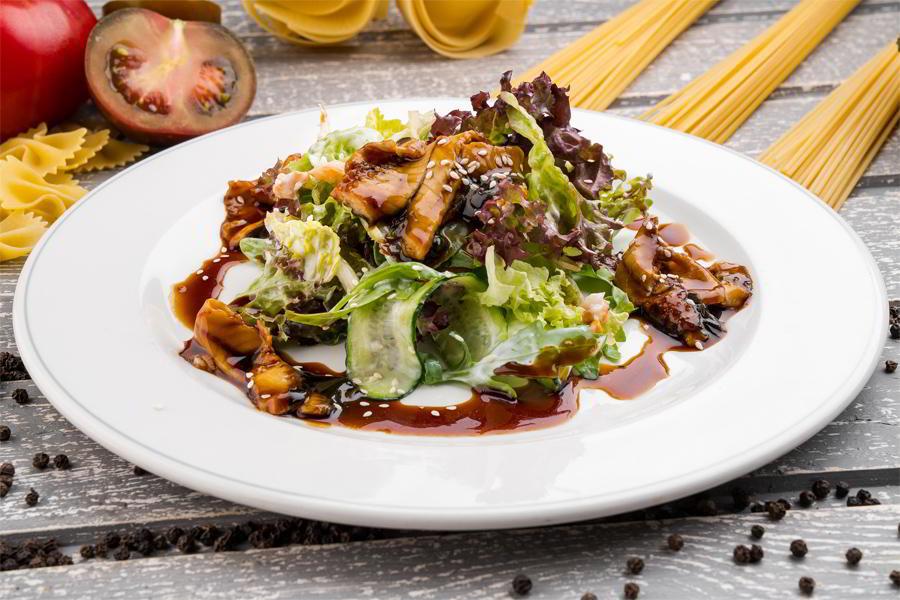 салат из угря унаги рецепт
